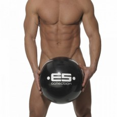 ES – BEACH BALL NOIR GONFLABLE AC009