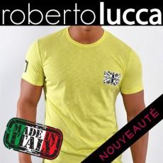 ROBERTO LUCCA - T SHIRT LUCAS SUNNY JAUNE