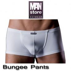 MANSTORE M200 BUNGEE PANTS BLANC