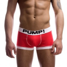 PUMP! BRIGHT LIFE BOXER ROUGE