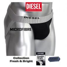 DIESEL - JOCK STRAP MICROFIBRE NOIR FRESH & BRIGHT