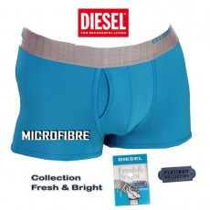 DIESEL - BOXER MICROFIBRE TURQUOISE FRESH & BRIGHT