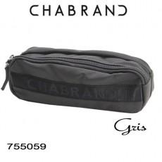 CHABRAND - TROUSSE D'ECOLIER GRIS LIGNE YANKEE 755059
