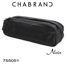 CHABRAND - TROUSSE D'ECOLIER NOIR LIGNE YANKEE 755051