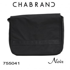 CHABRAND - GRANDE BESACE A RABAT NOIR LIGNE YANKEE 755041