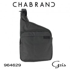 CHABRAND - BODY BAG NYLON GRIS LIGNE BASTIDE 96462-9