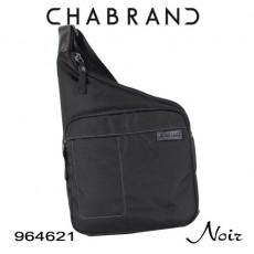 CHABRAND - BODY BAG NYLON NOIR LIGNE BASTIDE 964621