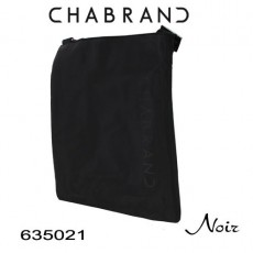 CHABRAND - PETITE BESACE NYLON NOIR LIGNE BRONX 635021