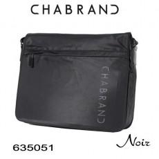 CHABRAND - GRANDE BESACE A RABAT NYLON NOIR LIGNE BRONX 635051