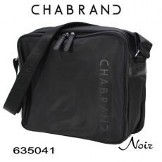 CHABRAND - GRANDE BESACE NYLON NOIR LIGNE BRONX 635041