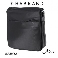 CHABRAND - PETITE BESACE A RABAT NYLON NOIR LIGNE BRONX 635031