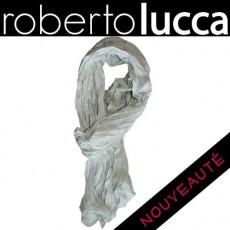 ROBERTO LUCCA - ECHARPE CREME