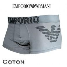 ARMANI - BOXER COTON HOMME PARIGAMBA GRIS 111866 3A745 00042