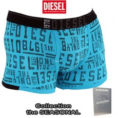 DIESEL - BOXER COTON SEMAJO TURQUOISE  THE SEASONAL
