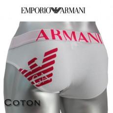 ARMANI - SLIP COTON HOMME PARIGAMBA BLANC 110814 3A725 00010