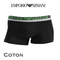 ARMANI - BOXER COTON HOMME PARIGAMBA NOIR 11389 3A516 00020