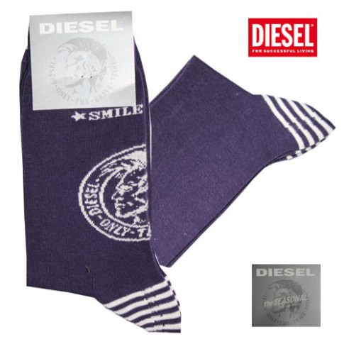 DIESEL - CHAUSSETTES VIOLETTES  CALZINO  THE SEASONAL