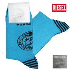 DIESEL - CHAUSSETTES TURQUOISES  CALZINO  THE SEASONAL