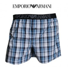 ARMANI - CALECON GRAND CARREAUX MARINE