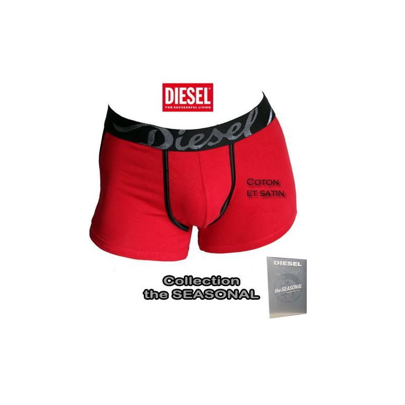 diesel boxer coton et satin rouge shawn the seasonal. Black Bedroom Furniture Sets. Home Design Ideas
