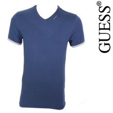 GUESS - T-SHIRT NEW SHINY MARINE