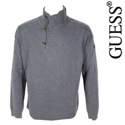 GUESS - PULL OVER GRIS TENDANCE
