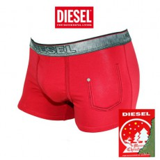 DIESEL -  BOXER COTON ROUGE COLLECTION NOEL 2013