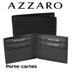 AZZARO - PORTE CARTES ITALIEN - LIGNE ELEGANTE