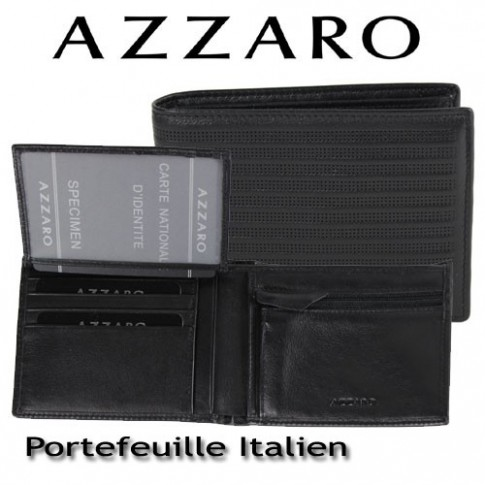 AZZARO - PORTEFEUILLE ITALIEN - LIGNE ELEGANTE