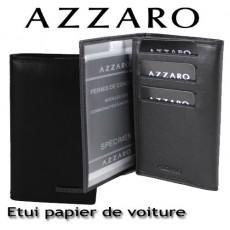 AZZARO - ETUI PAPIER DE VOITURE - LIGNE LORIS