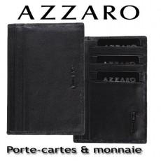AZZARO - PORTE-CARTES ET MONNAIE - LIGNE LORIS