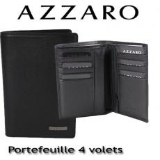 AZZARO - PORTEFEUILLE 4 VOLETS - LIGNE LORIS
