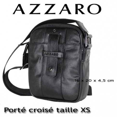 AZZARO - PORTE CROISE TAILLE XS - LIGNE DJERBA
