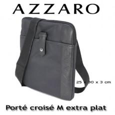 AZZARO - PORTE CROISE TAILLE M EXTRA PLAT - LIGNE MILANO