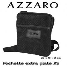 AZZARO - POCHETTE EXTRA PLATE XS - LIGNE CHROME