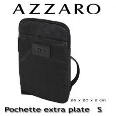 AZZARO - POCHETTE EXTRA PLATE S - LIGNE CHROME
