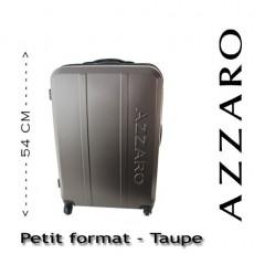 AZZARO - VALISE RIGIDE PETIT FORMAT - TAUPE