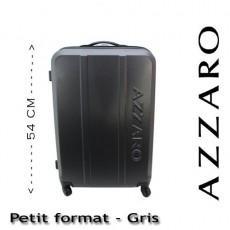 AZZARO - VALISE RIGIDE PETIT FORMAT - GRIS
