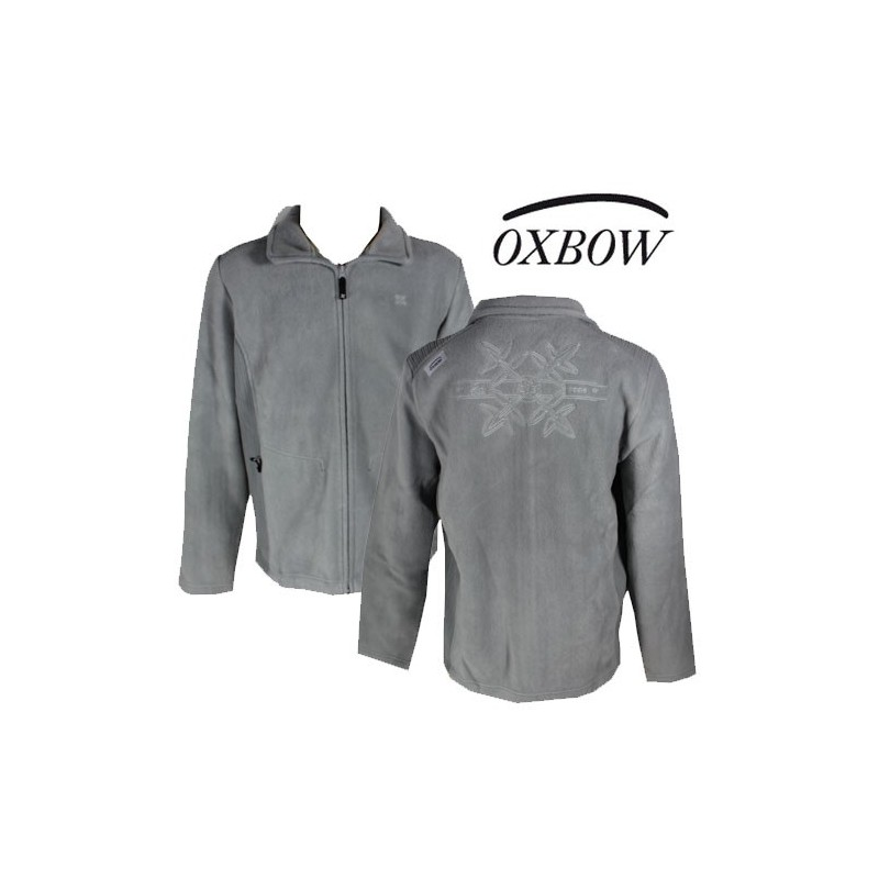 Oxbow veste polaire grise sokolo