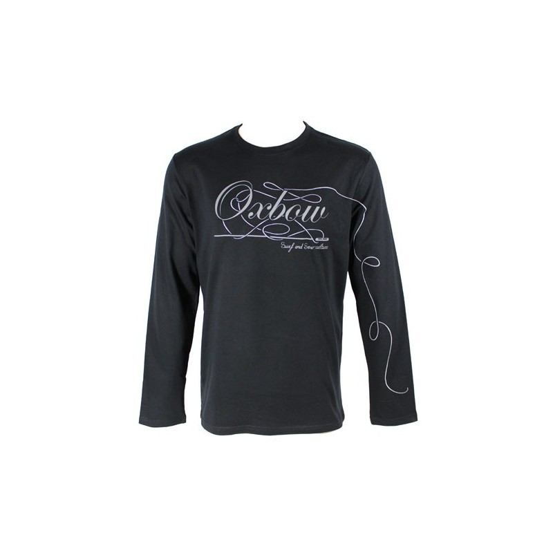 oxbow t shirt manche longue tatools noir. Black Bedroom Furniture Sets. Home Design Ideas