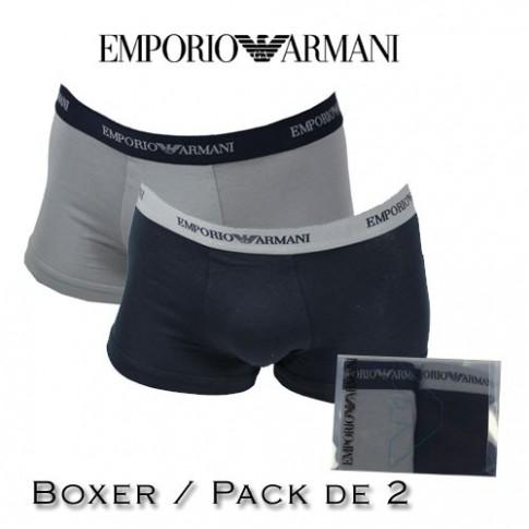 ARMANI - BOXER HOMME BI PACK 13742