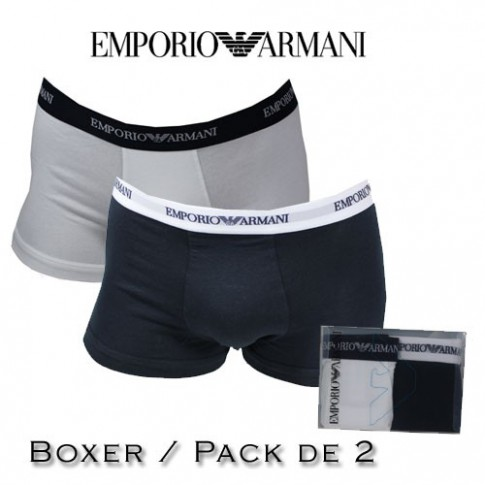 ARMANI - BOXER HOMME BI PACK 110410