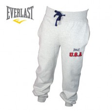 EVERLAST –PANTALON DE SURVETEMENT BROWN USA GRIS
