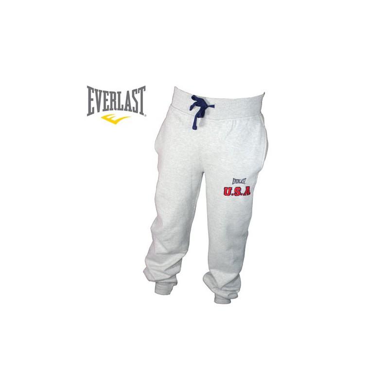 super quality big sale classic fit Everlast –pantalon de survetement brown usa gris ...