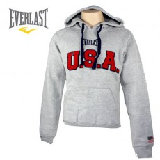 EVERLAST – SWEAT A CAPUCHE HUNTER USA GRIS