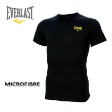 EVERLAST – TEE SHIRT  COMPRESS MICROFIBRE NOIR