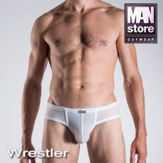 MANSTORE M101 CHEEKY BRIEF BLANC