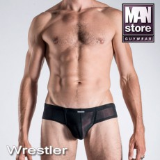MANSTORE M101 CHEEKY BRIEF NOIR