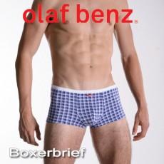 OLAF BENZ - BOXER RED1362 BOXERBRIEF BLEU DENIM