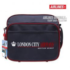 AIRLINES - BESACE TRAVEL BAG LONDON